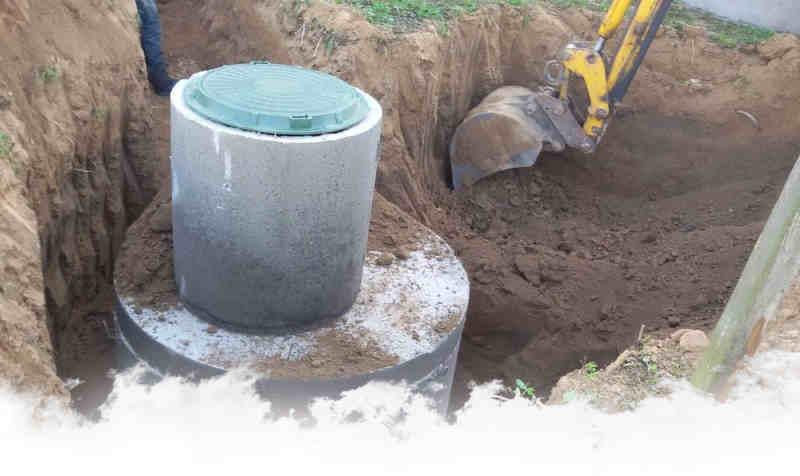 колодец под канализацию